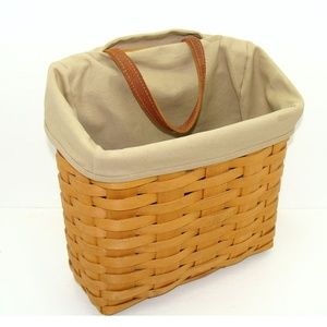 Longaberger basket hanging with liner